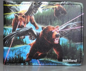 Flying Laser Bears Wallet, Enough Said