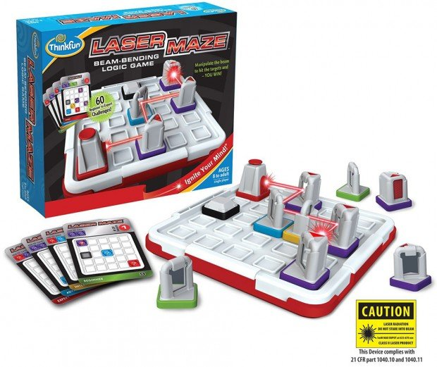 laser maze logic game by thinkfun t 620x521