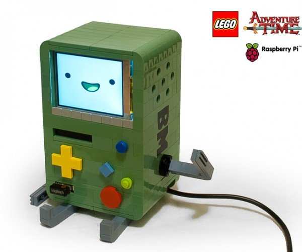 LEGO BMO Raspberry Pi Computer is Red Hot Like Pizza Supper