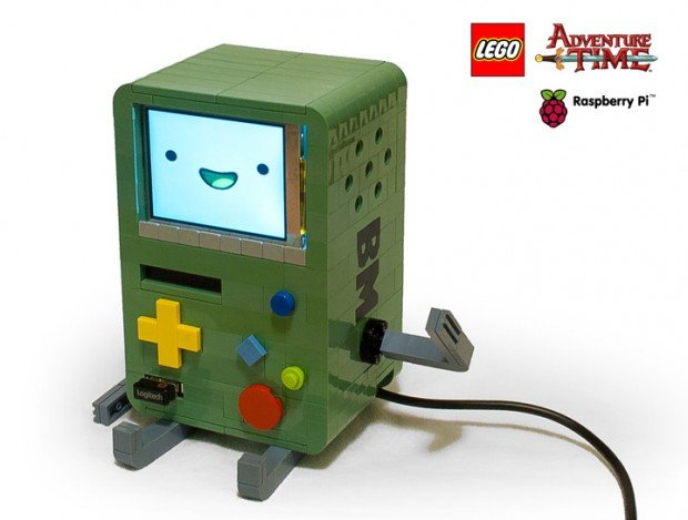 lego bmo adventure time raspberry pi computer by michael thomas 620x469