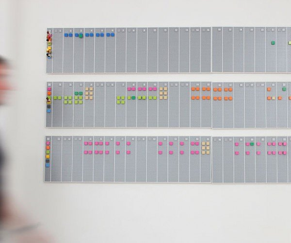 LEGO Calendar Syncs with Google Calendar: Brickmented Reality