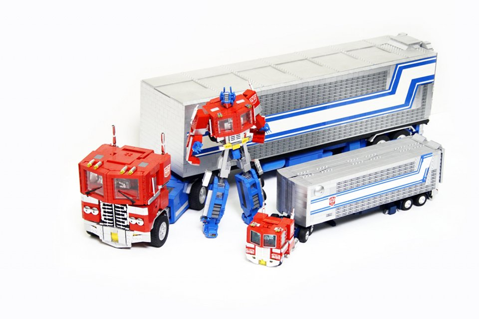 Lego G1 Transformers Optimus Prime By Orion Pax 13 Technabob