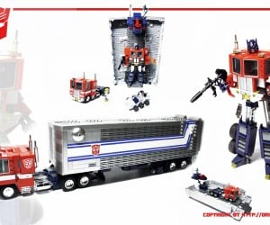 LEGO Optimus Prime: Bricks of Leadership