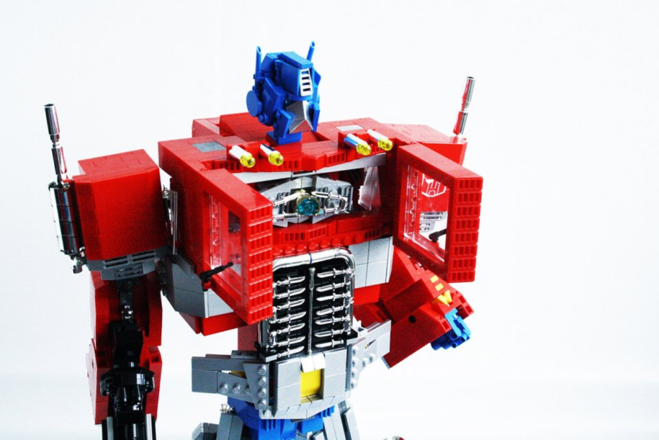 Lego G1 Transformers Optimus Prime By Orion Pax 8 Technabob