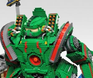 lego monster kaiju mecha robot diorama by hobby inside 3 300x250