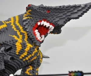 lego monster kaiju mecha robot diorama by hobby inside 4 300x250