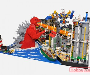 lego monster kaiju mecha robot diorama by hobby inside 8 300x250