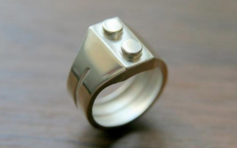 LEGO Brick Ring: If You Like It Then You Shoulda Put a Minifig on It ...