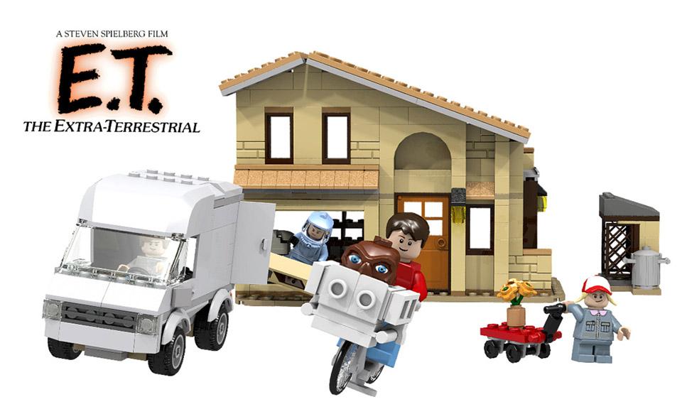 E T Lego Set Brings Back The 80s Technabob