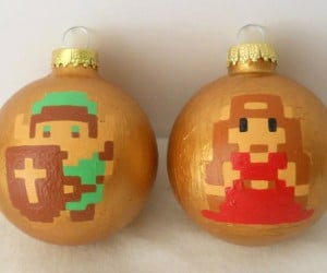 link zelda ornaments 300x250