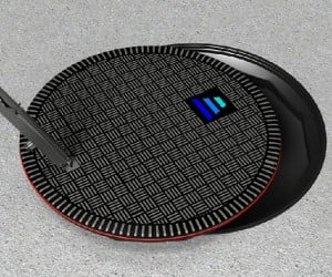 Hevo Power Wireless EV Chargers Coming to NYC Disguised as Manhole Covers