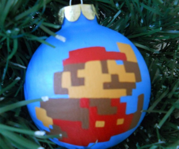 Nintendo Christmas Ornaments: Merry Mario!