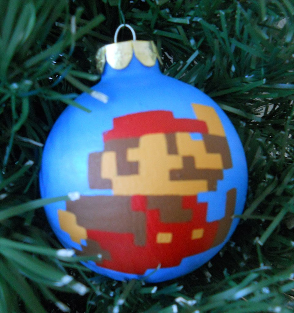 Nintendo Christmas Ornaments: Merry Mario! - Technabob