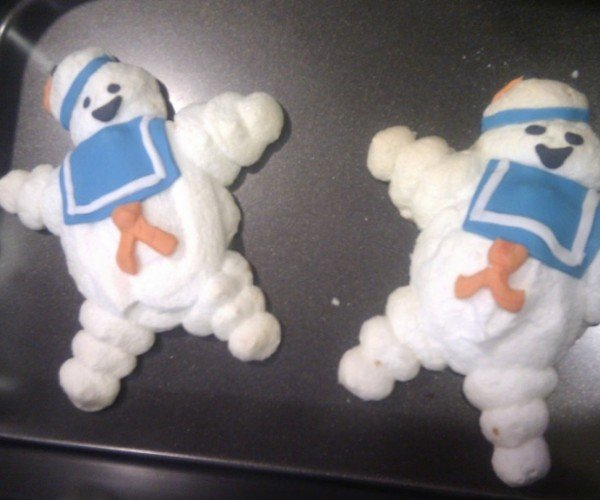 Stay-Puft Marshmallow Man Meringue Cookies: Who Ya Gonna Eat?