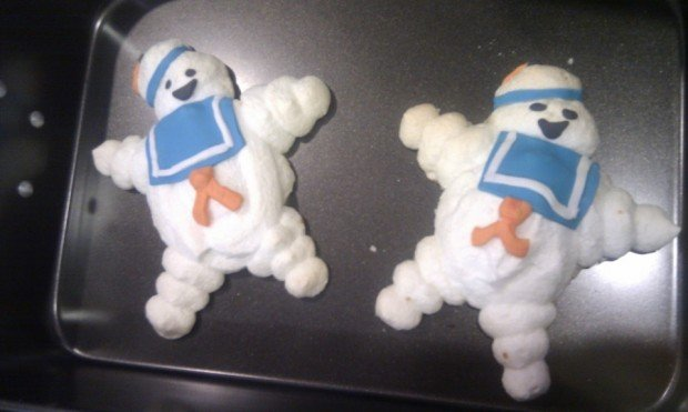 marshmallow men