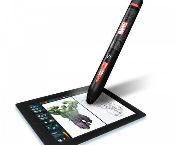 Draw Your Own Superheroes Using the Marvel Creativity Studio Stylus and App