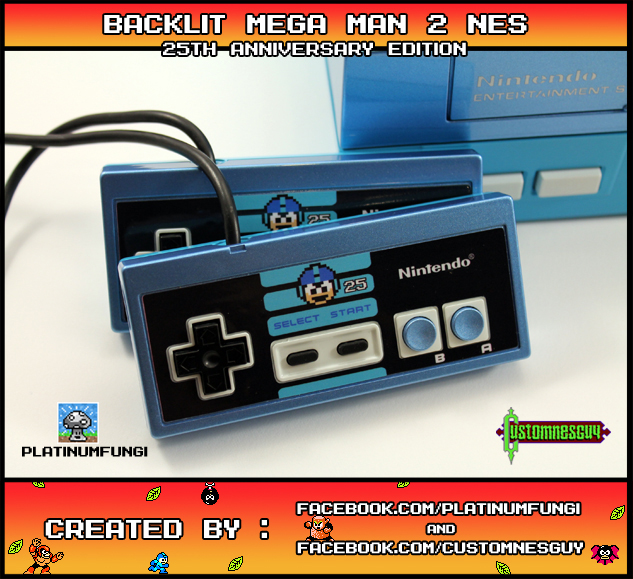 Tire Rack Coupon Code >> Custom Mega Man 2 25th Anniversary NES: Retro Master