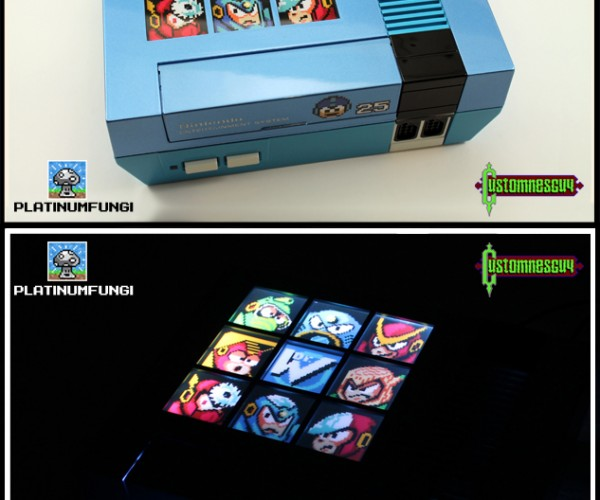 Custom Mega Man 2 25th Anniversary NES: Retro Master
