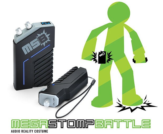 mega stomp battle sound effects by thinkgeek