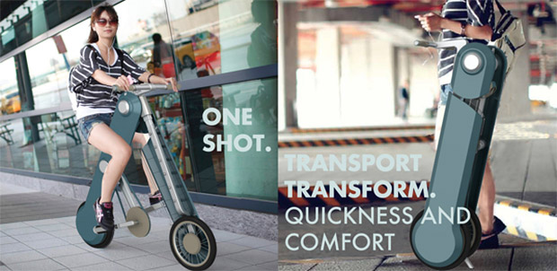 one shot transforming bike 2