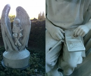 Child's Tombstone Shows Him Playing Pokémon