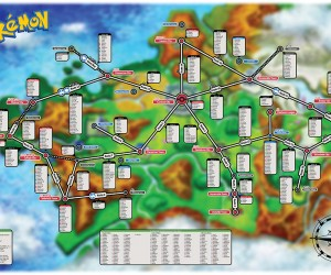 Pokémon X/Y Creature Map: Catchtography