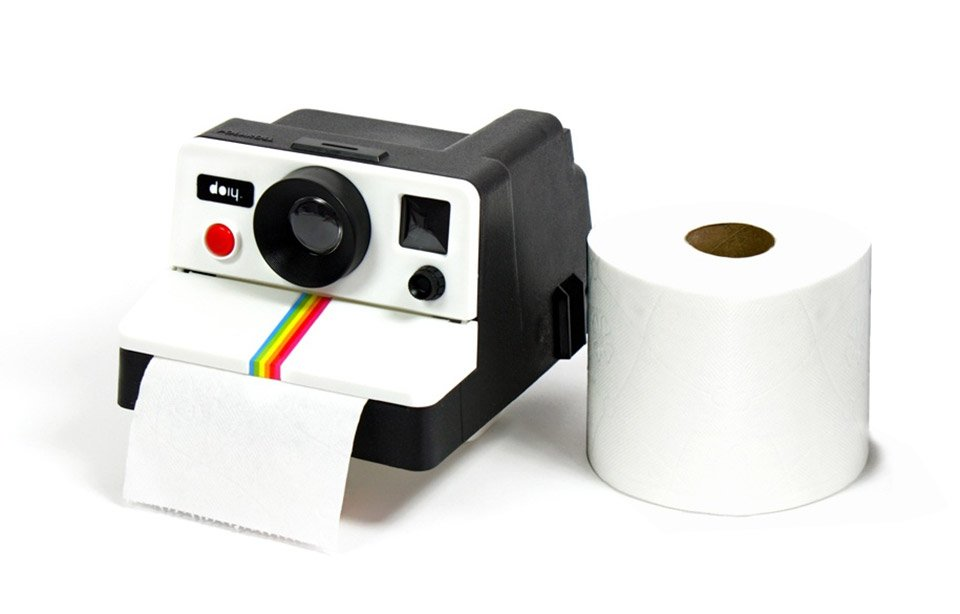 Technabob Pola Roll Greatest Toilet Paper Dispenser Ever