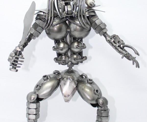 Scrap Metal Predator: Scrap Metal Aliens Don't Stand a Chance