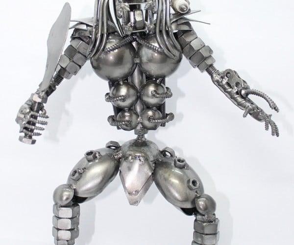 Scrap Metal Predator: Scrap Metal Aliens Don't Stand a Chance