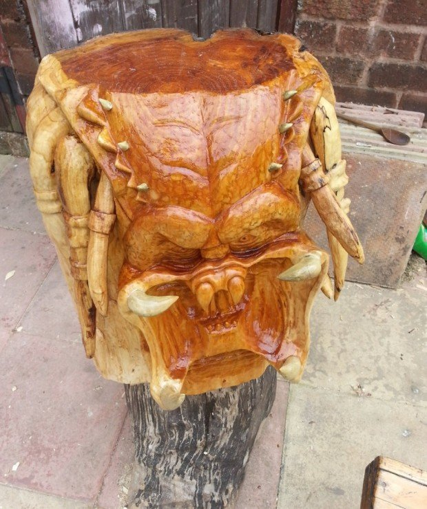 predator head