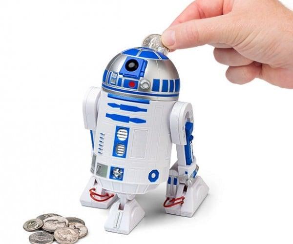 "R2-D2 ""Talking"" Piggy Bank: 1st National Bank of Droid"