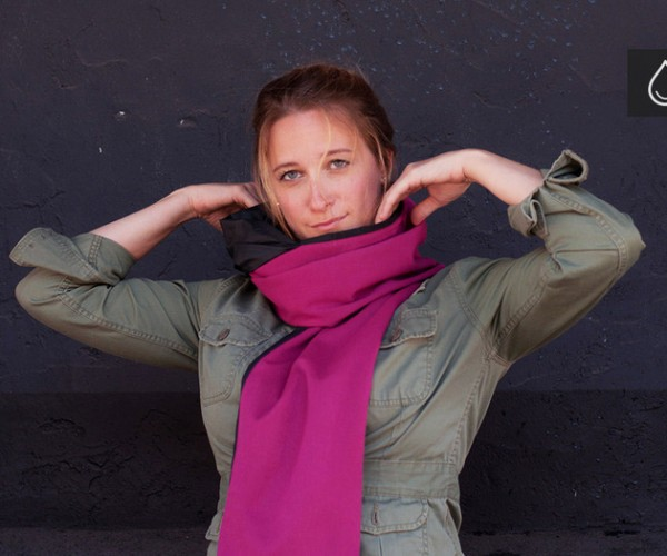 RainScarf: Perfect for Harsh Winds and the Occasional Downpour