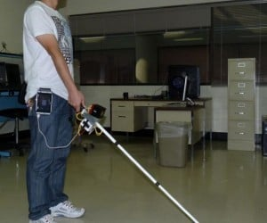 Robotic Cane Helps Steer Blind in the Right Direction
