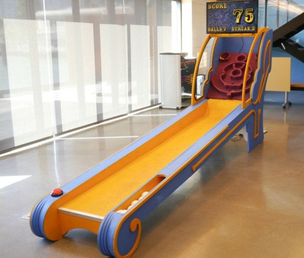 DIY Skee Ball Machine: Great Balls of Fun - Technabob