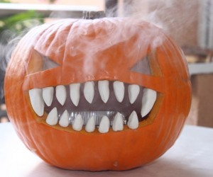 Make This Smokin' Pumpkin for Halloween