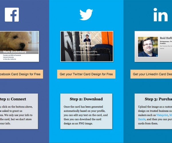 Turn Your Social Media Profiles into Business Cards