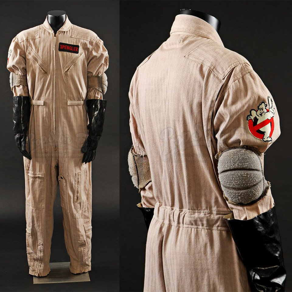 The Ultimate Halloween Costume Original Spengler Ghostbusters Jumpsuit For Sale Technabob
