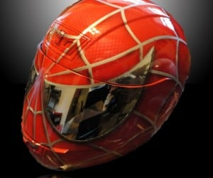 Spider-Man Motorcycle Helmet: with Great Power Comes Great Responsibility for Safety