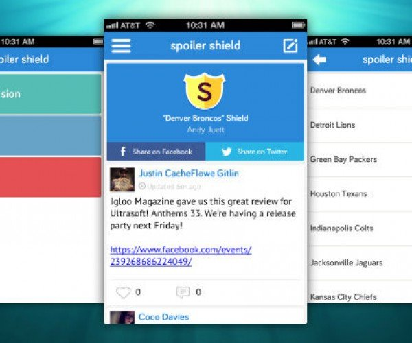 Spoiler Shield Lets You Block Spoilers from Your Social Media Feeds
