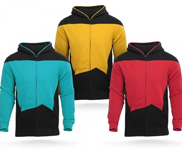 Star Trek: The Next Generation Uniform Hoodies: Starfleece