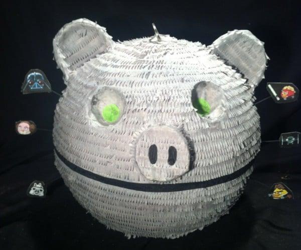 Angry Birds Death Star Piñata: This Little Piggy Blew up Alderaan