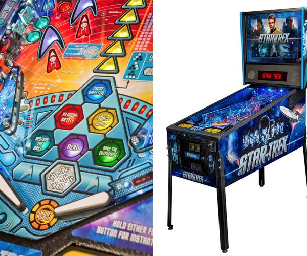 Star Trek J.J. Abrams Pinball Machine, to Boldly Tilt Where No Man Has Tilted Before