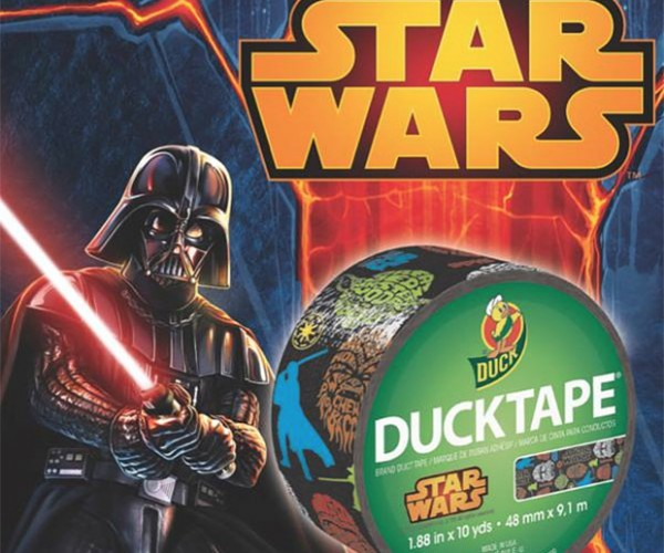 Star Wars Duct Tape, Behold the Power of the Duct Side