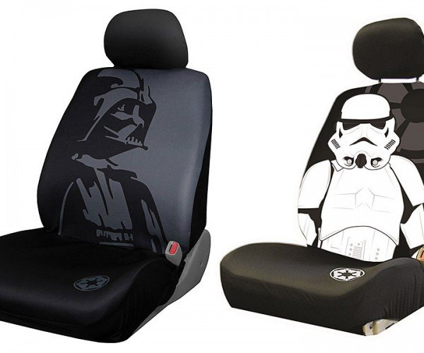 Darth Vader and Stormtrooper Car Seat Covers: May the Force Be with Your Ford