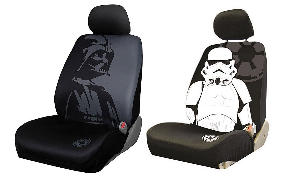 Darth Vader And Stormtrooper Car Seat Covers May The