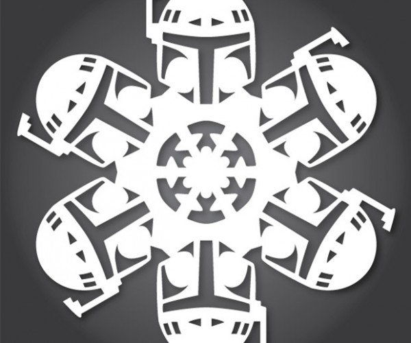 DIY Star Wars Snowflake Patterns: Use the X-Acto, Luke.