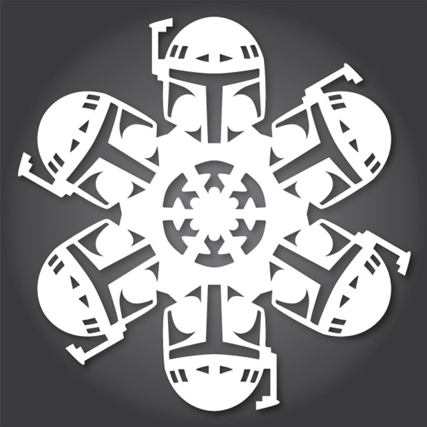 Diy Star Wars Snowflake Patterns Use The X Acto Luke Technabob