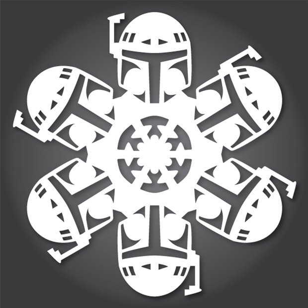 cool snowflakes yourself some new star wars snowflakes have surfaced ...