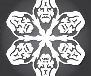 star wars snowflakes palpatine 300x250