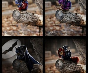 Gallery of Superhero Squirrels is Just Super